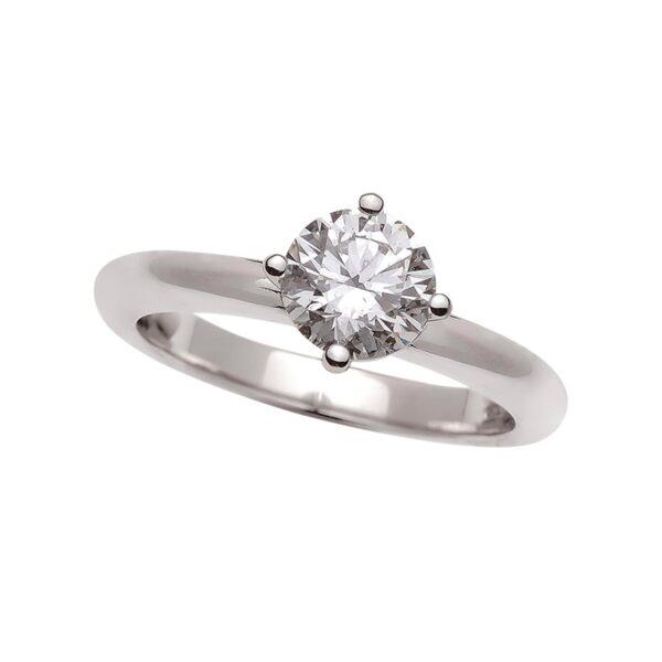 Solitario diamante